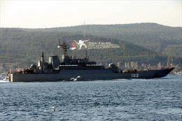 Tàu chiến Nga vào Địa Trung Hải sau khi máy bay Syria bị bắn hạ