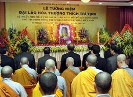 Tưởng niệm Đại lão Hòa thượng Thích Trí Tịnh tại chùa Quán Sứ