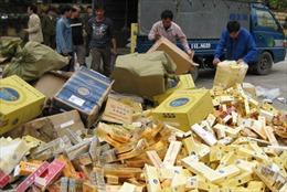Tăng thuế thuốc lá dễ gia tăng buôn lậu