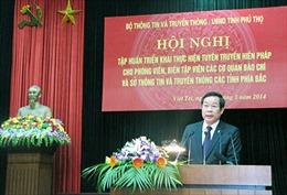 Tuyên truyền về Hiến pháp 2013 cần bài bản