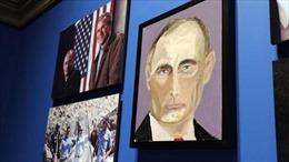 Cựu Tổng thống Bush trổ tài vẽ chân dung nguyên thủ thế giới