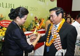 Tưng bừng Tết cổ truyền Bun Pi May - Lào 2014 tại Hà Nội