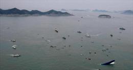 290 người vẫn mất tích trong vụ đắm phà ở Hàn Quốc