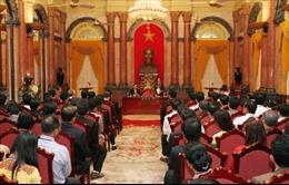 Phó Chủ tịch nước Nguyễn Thị Doan tiếp Đoàn đại biểu doanh nhân tiêu biểu