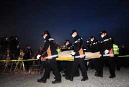 Số người thiệt mạng trong vụ đắm phà SEWOL tăng lên 58 người