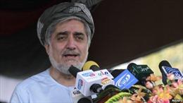 Bầu cử tổng thống Afghanistan: Cựu Ngoại trưởng Abdullah tạm dẫn đầu