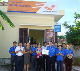Thành lập điểm Bưu điện - Văn hóa xã tại Trường Sa