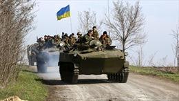 Ukraine tuyên bố 'giải phóng' một thị trấn ở miền Đông