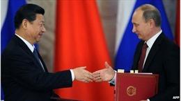 Khủng hoảng Ukraine đẩy hợp tác Nga - Trung lên tầm cao 'chưa từng thấy'