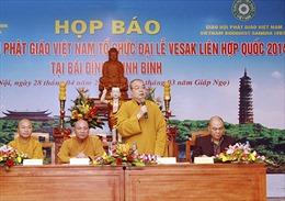 Đồng chí Nguyễn Thiện Nhân gửi thư chúc mừng Đại lễ Phật đản