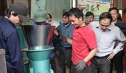 Chế tạo thành công lò đốt rác thải sinh hoạt