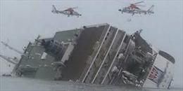 Video mới về khoảnh khắc kinh hoàng trong phà đắm Sewol