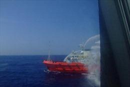 Tàu Trung Quốc tiếp tục khiêu khích tàu cảnh sát biển Việt Nam