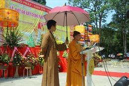 Đặt đá xây dựng khu văn hóa tâm linh tây Yên Tử
