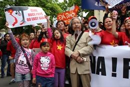 Hội Người Việt Nam tại Séc ra tuyên bố phản đối Trung Quốc