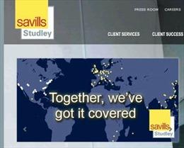 Savills chi 260 triệu USD mua lại tập đoàn Studley