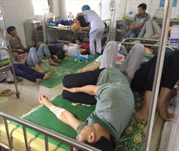 Hàng trăm công nhân Thái Bình nhập viện là do nhiễm khuẩn E.coli