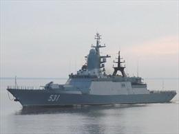 Tàu hộ tống mới của Hạm đội Baltic lần đầu tiên xóa sổ lá chắn trên biển