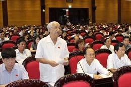 Đại biểu Quốc hội giữ vị trí trung tâm trong hoạt động Quốc hội