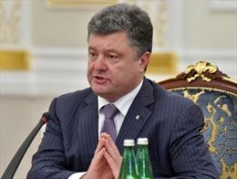 Tổng thống Ukraine hứa sẽ đơn phương ngừng bắn
