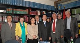 Thúc đẩy quan hệ ngoại giao nhân dân Việt-Đức