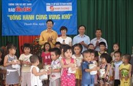 Báo Tin tức 'Đồng hành cùng vùng khó' tại Thanh Hóa