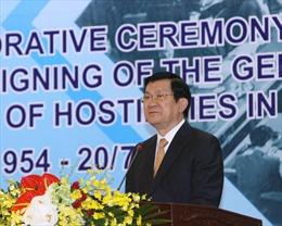 Phát biểu của Chủ tịch nước tại Lễ kỷ niệm 60 năm ký Hiệp định Geneva
