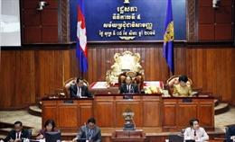 55 nghị sĩ đối lập dự họp Quốc hội Campuchia
