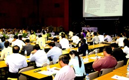 Việt Nam – Lào trao đổi kinh nghiệm tổ chức Đại hội đồng AIPA 35