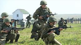 Nga tập trận tại quần đảo tranh chấp với Nhật