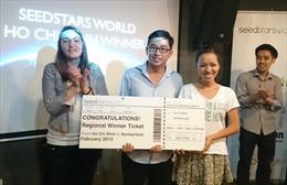 Triip.Me lọt chung kết khởi nghiệp Seedstars World