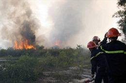 Hai vụ cháy gây thiệt hại trên 17ha rừng