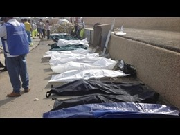 Tìm thấy 170 thi thể người di cư ngoài khơi Libya