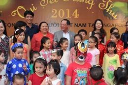 Thiếu nhi Việt ở Singapore hân hoan đón Trung thu