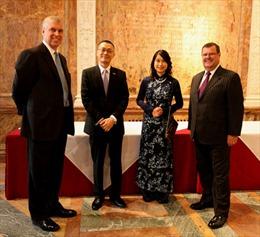 Cộng đồng doanh nghiệp có vai trò quan trọng thúc đẩy quan hệ Anh-Việt