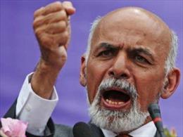 Ông Ashraf Ghani sẽ trở thành tổng thống Afghanistan