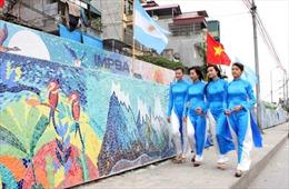 Hà Nội không đồng ý chủ trương đổi tên 'Con đường Gốm sứ ven sông Hồng'