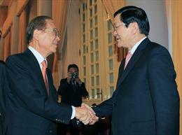 Chủ tịch nước tiếp cựu Quốc vụ khanh Nhật Bản Matsuda Iwao