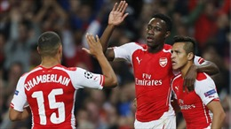 Arsenal thắng đậm, Liverpool thua sốc