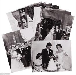 Phát hiện ảnh cưới chưa từng công bố của cố Tổng thống Kennedy