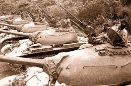 Kỷ niệm 50 năm ra quân đánh thắng trận đầu của Bộ đội Tăng thiết giáp