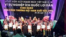 Vinh danh những nhà công thương Việt Nam