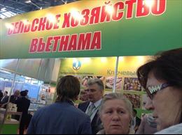 """Hội chợ """"Mùa thu vàng 2014"""" - cầu nối doanh nghiệp Nga-Việt"""