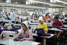 Campuchia: Xuất khẩu gạo, may mặc, giày da tiếp tục tăng