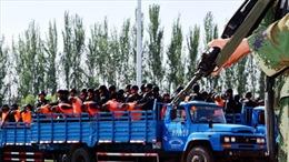 Trung Quốc tuyên tử hình nhóm khủng bố tại Tân Cương