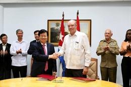 Việt Nam và Cuba nhất trí thúc đẩy hợp tác kinh tế thương mại