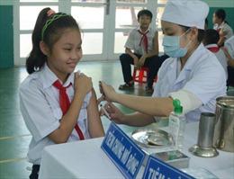 Phát động tiêm vắcxin sởi- Rubela khu vực phía Nam