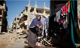 Cuộc sống tiếp diễn trên đống đổ nát tại Dải Gaza