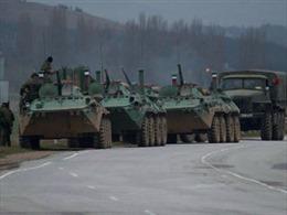Ukraine tố 32 xe tăng Nga tiến vào lãnh thổ