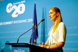 Những 'bóng hồng' năng động tại Hội nghị G20